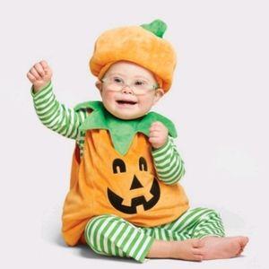 Nwt Pumpkin Halloween Outfit